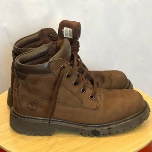 Timberland women's brown leather boots size 7.5